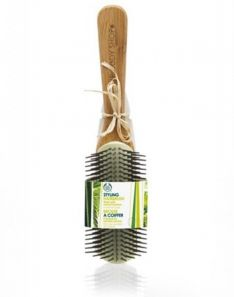 The Body Shop Styling Hairbrush Bamboo