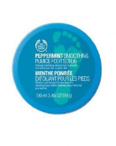 The Body Shop Peppermint Smoothing Pumice Scrub