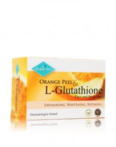 Harmony and Wellness Diamond Orange Peel and L-Glutathione Face and Body Bar