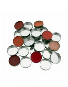 Z Palette 10 Pcs Mini Round Metal Pans