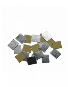 Z Palette 30 Pcs Square Metal Stickers