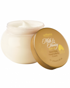 Oriflame Milk & Honey Gold Nourishing Hand & Body Cream