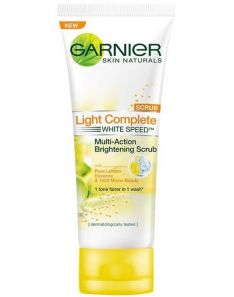 Garnier Light Complete White Speed Multi-Action Brightening Scrub