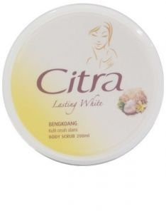Citra Lasting White Body Scrub