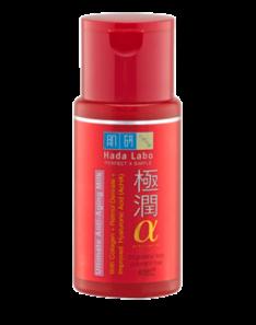 Hada Labo Gokujyun Alpha Ultimate Anti Aging Milk
