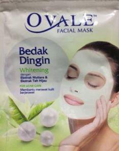 Ovale Facial Mask Bedak Dingin