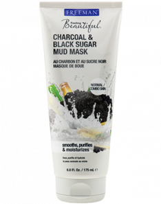 FREEMAN Feeling Beautiful Charcoal & Black Sugar Mud Mask