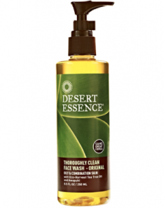Desert Essence Thoroughly Clean Face Wash—Original