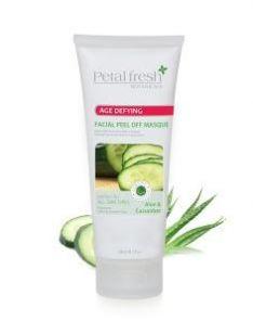 PETAL FRESH ORGANICS Aloe & Cucumber Facial Peel Off Masque