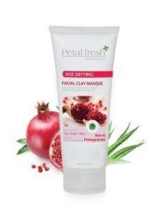 PETAL FRESH ORGANICS Aloe & Pomegranate Facial Clay Masque
