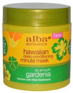 Alba Botanica Hawaiian Deep Conditioning Minute Masks So Smooth Gardenia