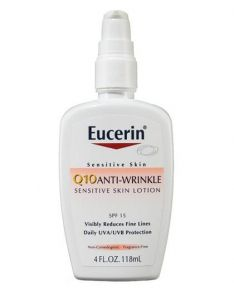 Eucerin Q10 Anti-Wrinkle Face Lotion with SPF 15 Sunscreen