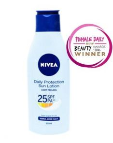 NIVEA Daily Protection Sun Lotion SPF 25
