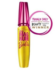 Maybelline Magnum Barbie Waterproof Mascara