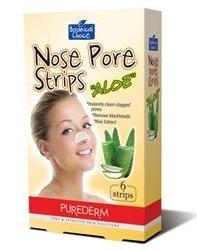 Purederm Botanical Choice Nose Pore Strips Aloe