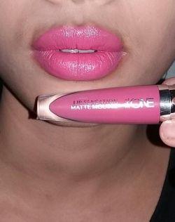 The ONE Lip Sensation Matte Mousse