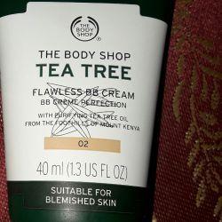 tea tree flawless bb cream