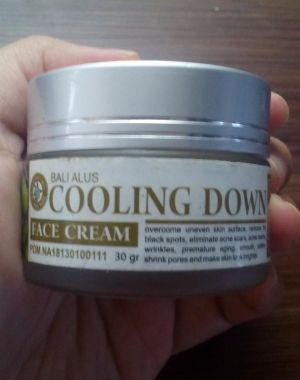 Cooling Down Face Cream
