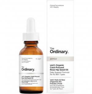 100% Organic Cold-Pressed Rose Hip Seed Oil