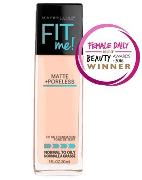 Fit Me! Matte + Poreless Foundation
