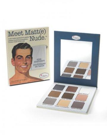 Meet Matt(e) Nude Matte Eyeshadow Palette