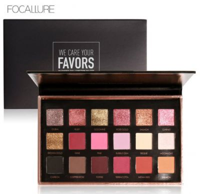 Focallure Metallic Day to Night 18-Color Eyeshadow Palette