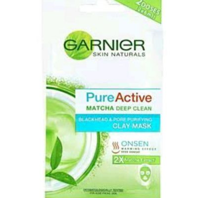 Garnier Garnier Pure Active Matcha Deep Clean Clay Mask