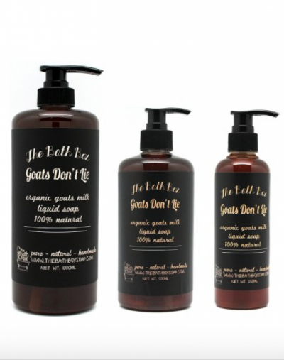 The Bath Box Goats Don't Lie Tea Tree