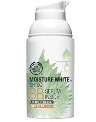 The Body Shop Moisture White Shiso BB Serum Inside