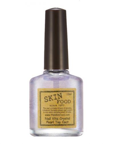 SKIN FOOD Nail Vita Crystal Pearl Top Coat