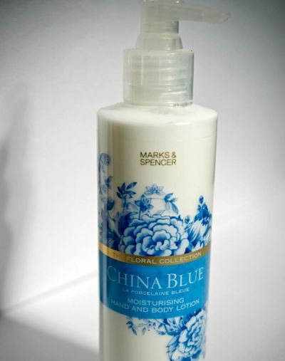 Marks & Spencer China Blue Hand & Body Lotion