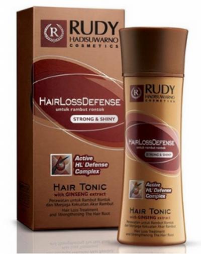 Rudy Hadisuwarno Hair Loss Defense Hair Tonic