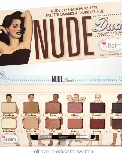 The Balm Nude Dude Eyeshadow Palette