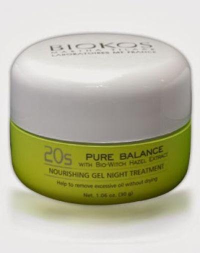 Pure Balance Nourishing Gel Night Treatment