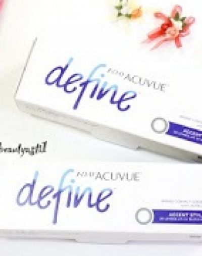 Acuvue 1-Day Acuvue Define accent style