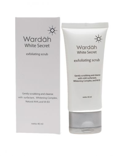 White Secret Exfoliator Scrub