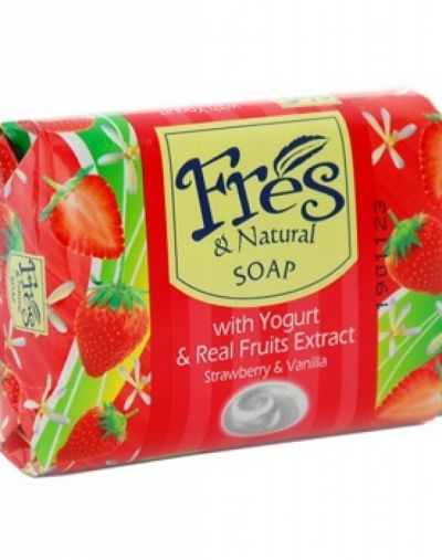 Bar Soap With Real Yogurt and Fruit Extract
