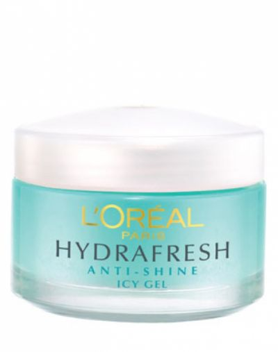 HYDRAFRESH ANTI SHINE ALL DAY HYDRATING & MATTIFYING ICY GEL