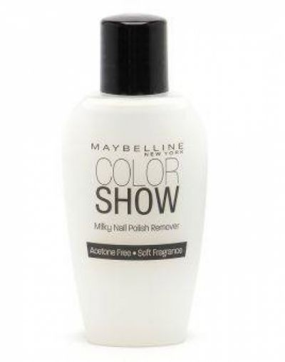 Maybelline Color Show Silky Nail Polish Remover
