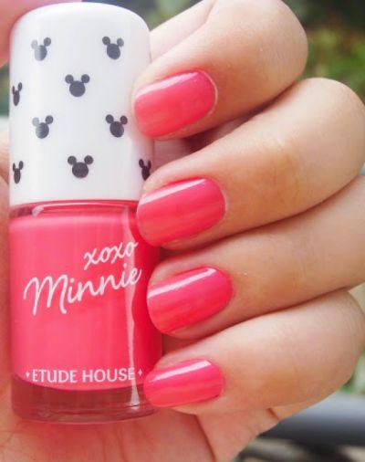 Etude House XoXo Minnie Bubble Pink Nail Polish