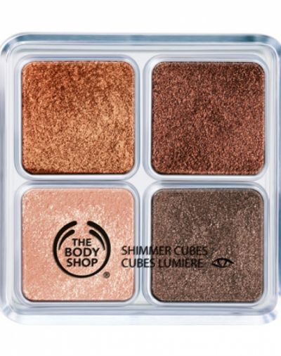 The Body Shop Chocolate box shimmer cubes pallete