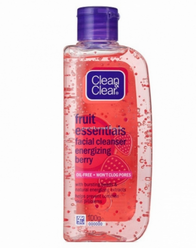 Clean And Clear Facial Cleanser Energizing Berry