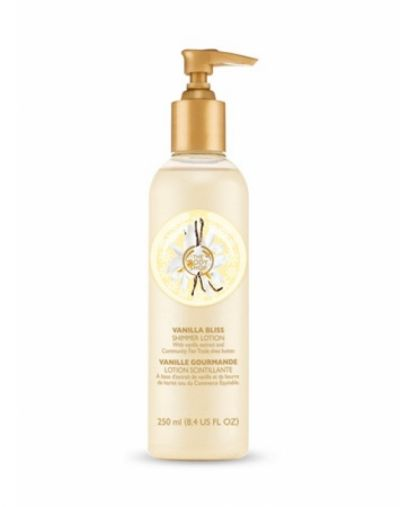 The Body Shop Vanilla Bliss Shimmer Lotion