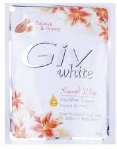 GIV White Body Wash