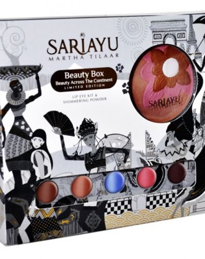 Sariayu Beauty Box Across Continent