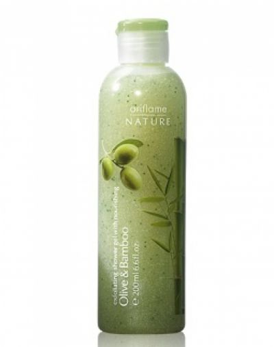 Oriflame Exfoliating Shower Gel with Nourishing Olive & Bamboo