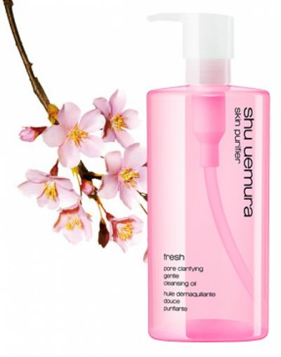 Shu Uemura POREfinist anti-shine fresh cleansing oil
