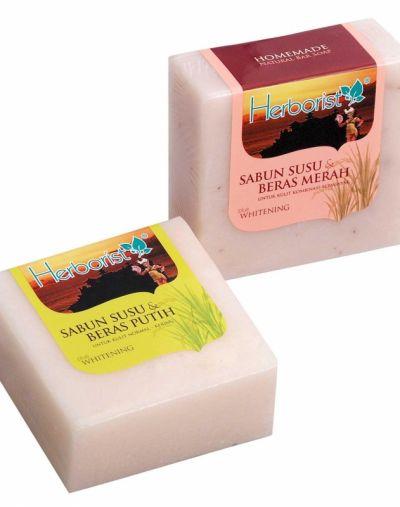 Herborist Sabun Susu dan Beras Putih