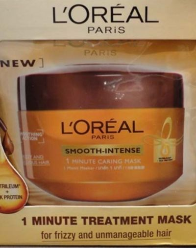 L'Oreal Paris Smooth-Intense 1 Minute Caring Mask