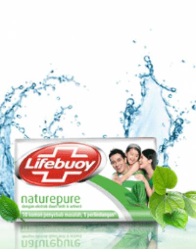 Lifebuoy Nature Pure Soap Bar